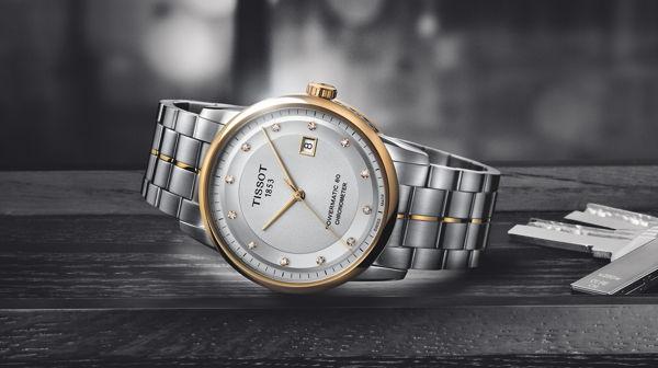Một mẫu đồng hồ cơ đẹp Thụy Sỹ Tissot